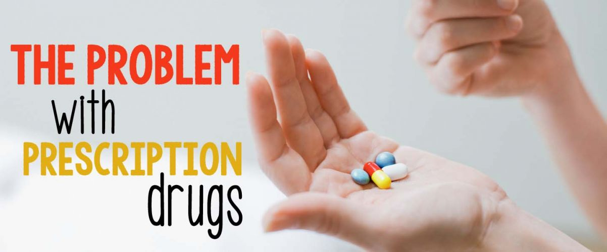 The problem with prescription drugs @caltonnutrition
