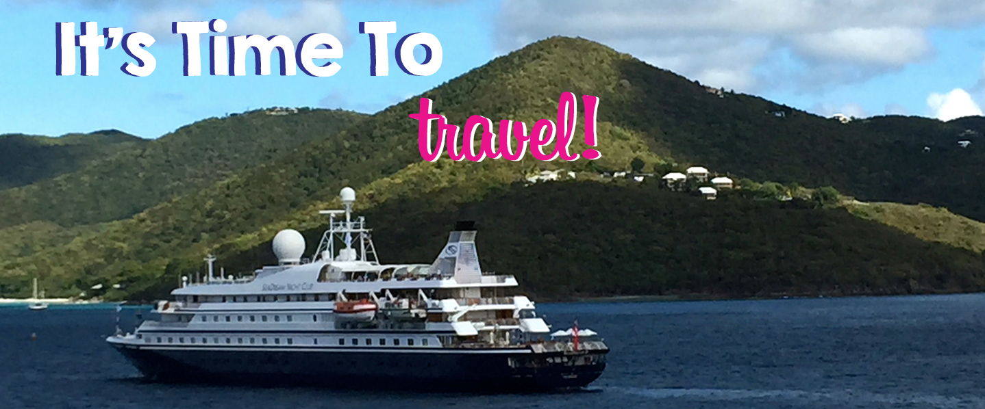 It's time to travel, Seadream style!