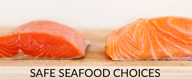 Safe seafood choices - @caltonnutrition