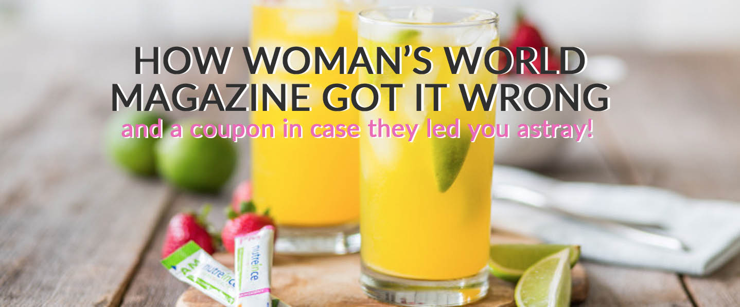 How Women's World Magazine Got It Wrong